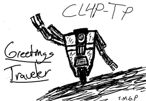 Sketchy Claptrap by sirmanguyperson