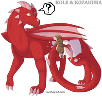Kole and Kozakura by Norjack