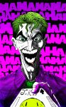 the joker colored by goblinarmy