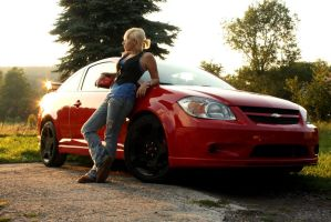 Me Myself and My Car by forthewinphotography