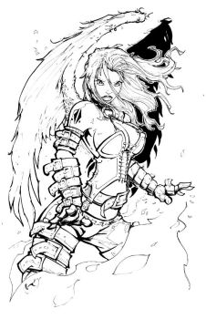 INKS: Angel 4 by rantz