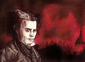 Sweeney Todd by Changingtherain