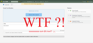 WHY?!!! :new submit page: /could get ranty... by BlackMew13