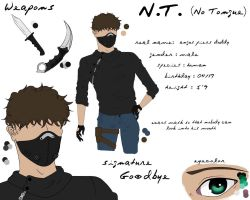 Creepypasta OC: N.T. - Profile (in work) by TweetMeat