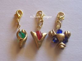 Spiritual Stones Charms ZELDA by TorresDesigns