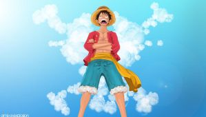 Ore wa Luffy by Art-is-a-Explosion