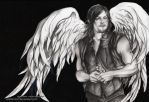 Daryl Dixon  - The Walking Dead - S6 by zelldinchit