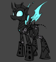 Megamare X - Normal Changeling by Underpable