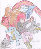 Pokemon Team by KHSoraCentral1997