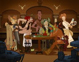 Strip Poker by mainasha