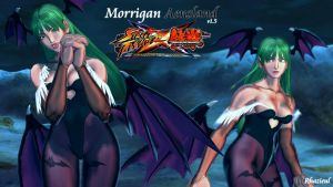Lili - Morrigan Aensland v1.5 mod for SFxT by Rhazieul