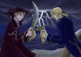 Epic Duel by Jupiterine