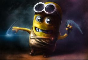Minion Rule The Dark by AlexanderLevett