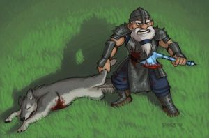 Dwarf Fortress - Adventurer by Kobb