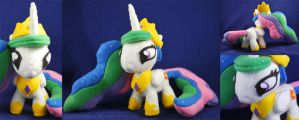 My First Little Pony Plush - Princess Celestia by sakkysa