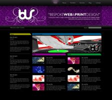 Blur site design by bassmansgz