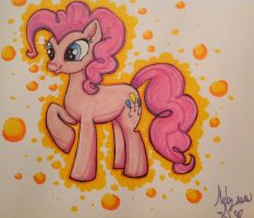 .:: Pink Party Pony ::. by renjin-chan
