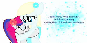 Gift : Thanks for everything Morningponyartist by Emeraldy-Dust