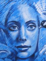 blue face by n4t4