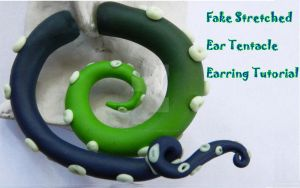 Fake Stretched Ears Tentacle Tutorial by NerdEcrafter