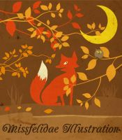 Autumn Fox by missfelidae