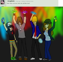 Ask Us: Rave!!! by xTarynStormCaster