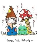 Gnomes, Toads, Toadstools by TwistedTrocki