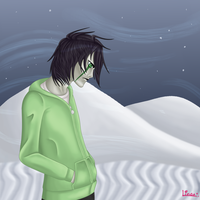 Ulquiorra : Colder than the cold wind by MotionlessHydraulic