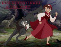 Red Riding Hood and the Wolf by MaryJet
