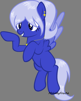 Blue Pony Adopt by MelodyFox36