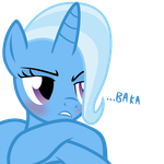 Tsundere Trixie by The-Smiling-Pony