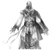 Ezio Assassins Creed by 8Bpencil