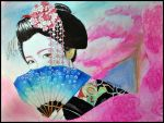 Geisha by fallinginsane