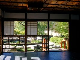STOCK Japanese Garden Bungalo by EscapeFromWonderland