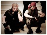 RERF - Wesker and Joseph by theanimestore