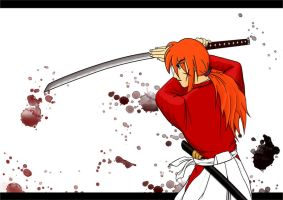 Himura Kenshin: You won't pass by Chetcho