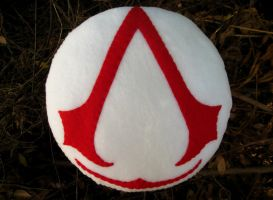 Assassin's Creed Pillow by P-isfor-Plushes