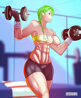 Victoria Getting stronger by Seonidas