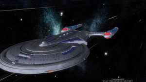 Star Trek: GENERATION FLEET U.S.S. Challenger by TrekkieGal