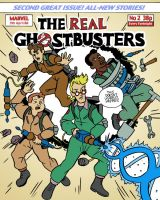 Ghostbusters Cover by BingoGasStation