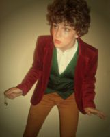 Me as Bilbo Baggins 2 by nerdsharpie