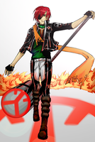 Lavi:Fire seal by BlackMayo