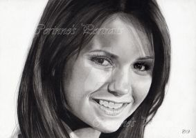 Nina Dobrev by Sadness40