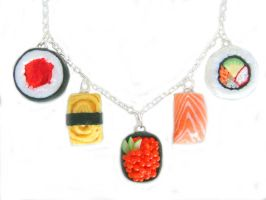 Sushi Necklace by KawaiiCulture