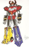 Megazord power up by Urbangaijin07