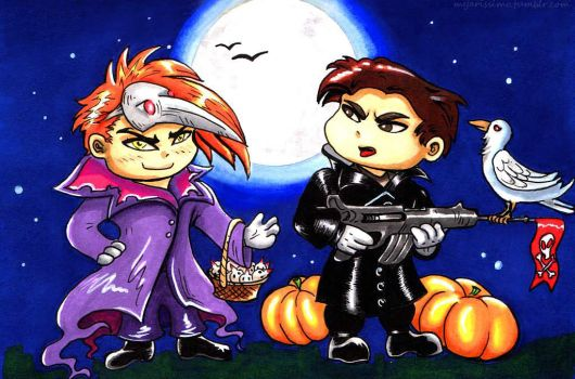 Trick or Treat? by Myar