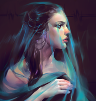 Draped blue by Vetyr