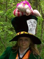 Me as The Mad Hatter by NikkiXOdd4eva