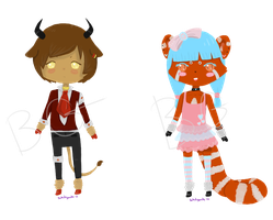 Chibi Adopts - OPEN by BakedGewds