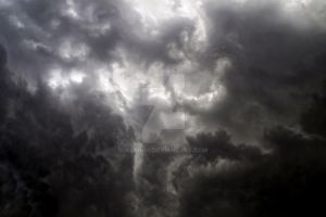 Dark stormy clouds 6 ~ Stock by AStoKo by AStoKo